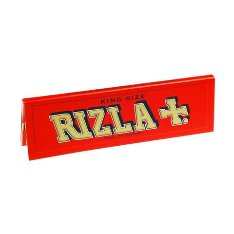 Rizla Red King Size Rolling Paper - 32-Leaf Single Booklet - vapersandpapers.com