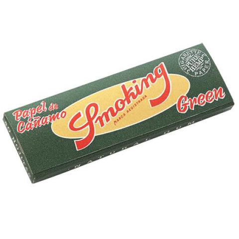 Smoking Green 1 1/4 Rolling Paper - 50-Leaf Single Booklet - vapersandpapers.com
