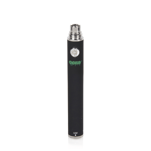 Ooze 900 Twist Battery - 900mAh Battery (Black) - vapersandpapers.com