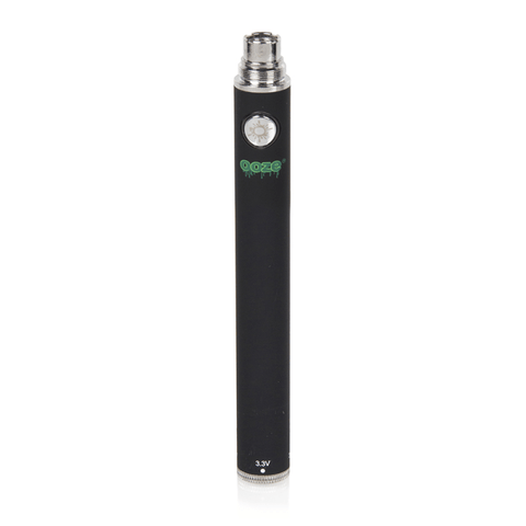 Ooze 1100 Twist Battery - 1100mAh Battery (Black) - vapersandpapers.com