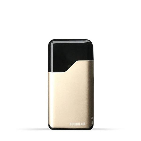 Suorin Air V2 Starter Kit - Refillable Pod Vaporizer (Gold) - vapersandpapers.com