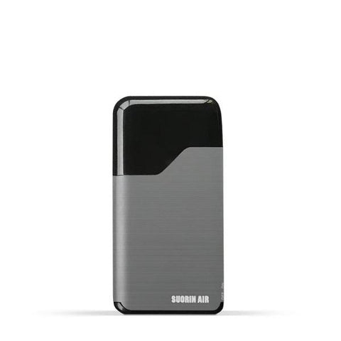 Suorin Air V2 Starter Kit - Refillable Pod Vaporizer (Metallic Grey) - vapersandpapers.com