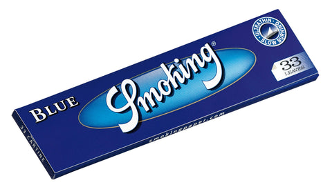 Smoking Blue Kingsize Rolling Paper - 33-Leaf Single Booklet - vapersandpapers.com