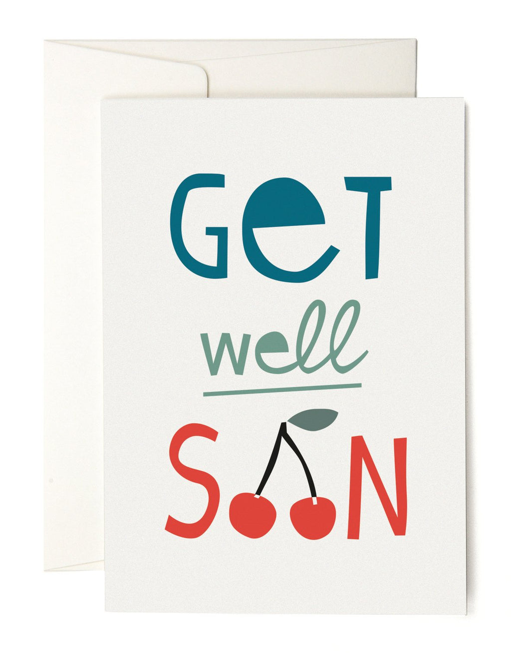 PLEASED TO MEET GET WELL SOON Klappkarte / WILDHOOD store