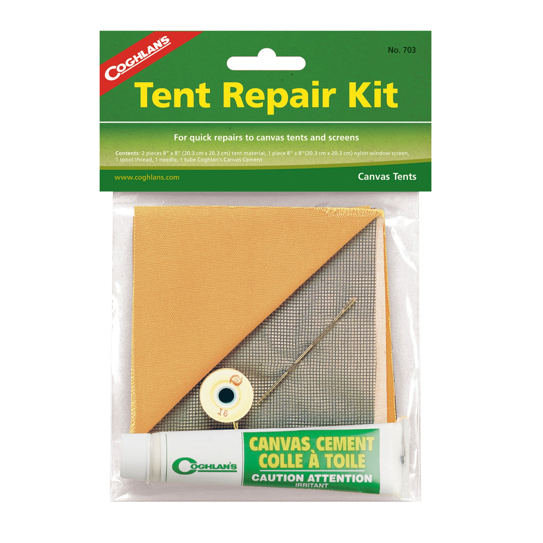 TENT REPAIR KIT Zelt Reperatur-Set