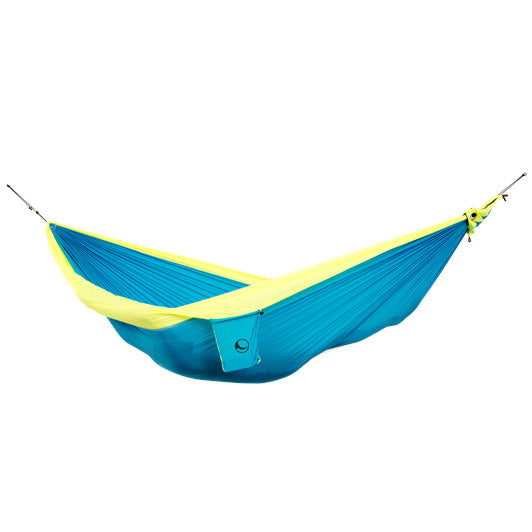 Ticket to the Moon – ORIGINAL HAMMOCK Hängematte AQUA/ NEON