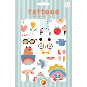 Duft-Tattoos TIERE Fruity Smell