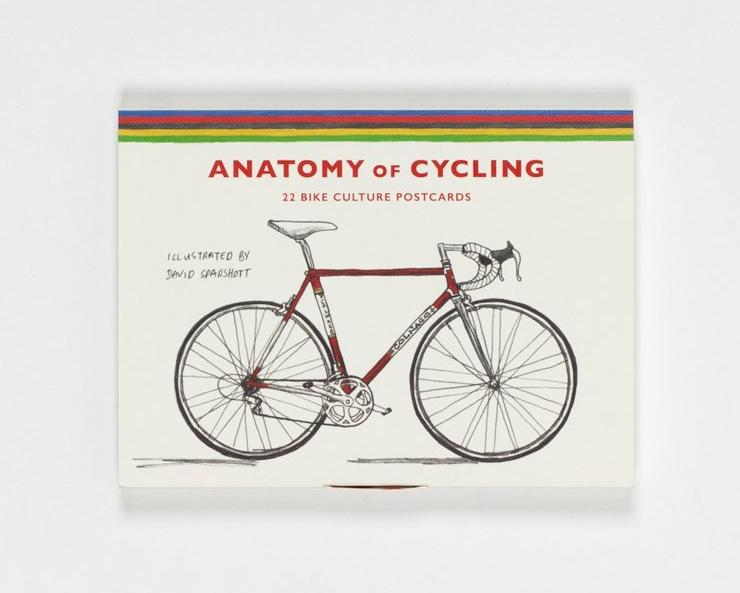 Postkarten-Set THE ANATOMY OF CYCLING