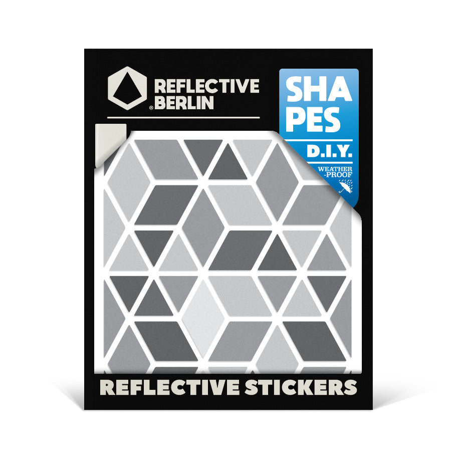 Reflektierende Sticker SHAPES Diamonds