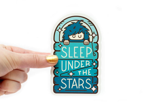 Ello There SLEEP UNDER THE STARS Sticker / WILDHOOD store