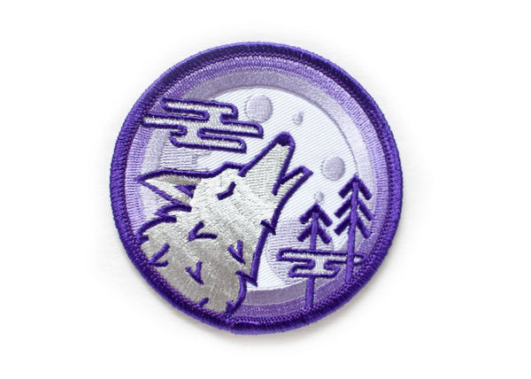 Ello There Aufnäher – WOLF CRY Patch / WILDHOOD store