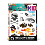 Reflektierende Sticker KID Pirates