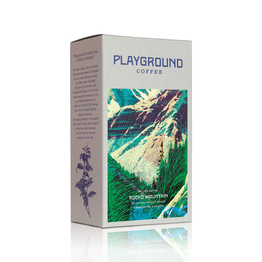 Playground Coffee ROCKO MOUNTAIN Filter Kaffee / WILDHOOD store