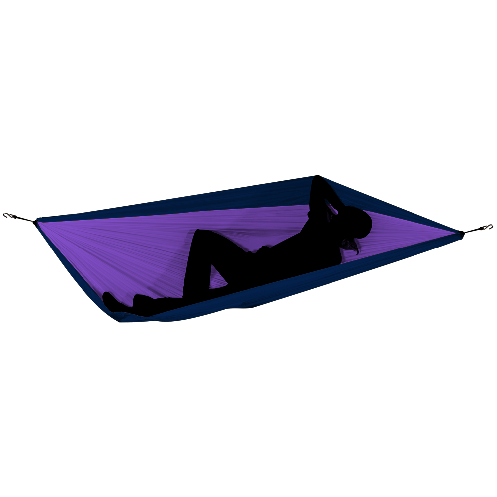 Ticket to the Moon – DOUBLE HAMMOCK Hängematte LILA