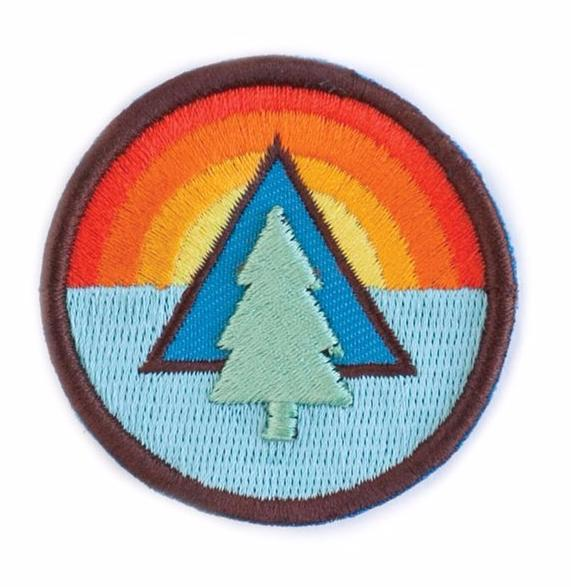 Ello There Sticker – SUNRISE TREE Sticky Patch / WILDHOOD store