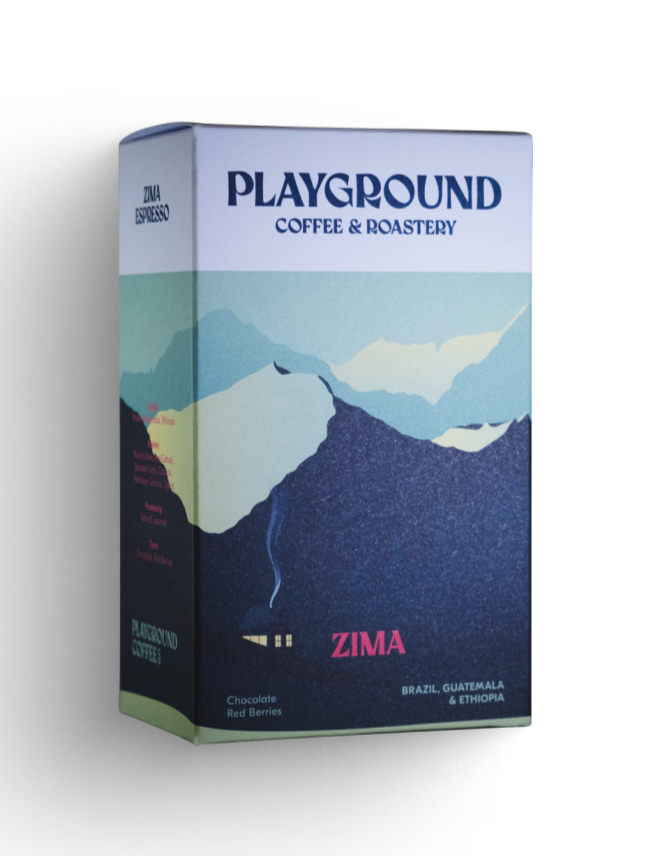 Playground Coffee ZIMA ESPRESSO / WILDHOOD store