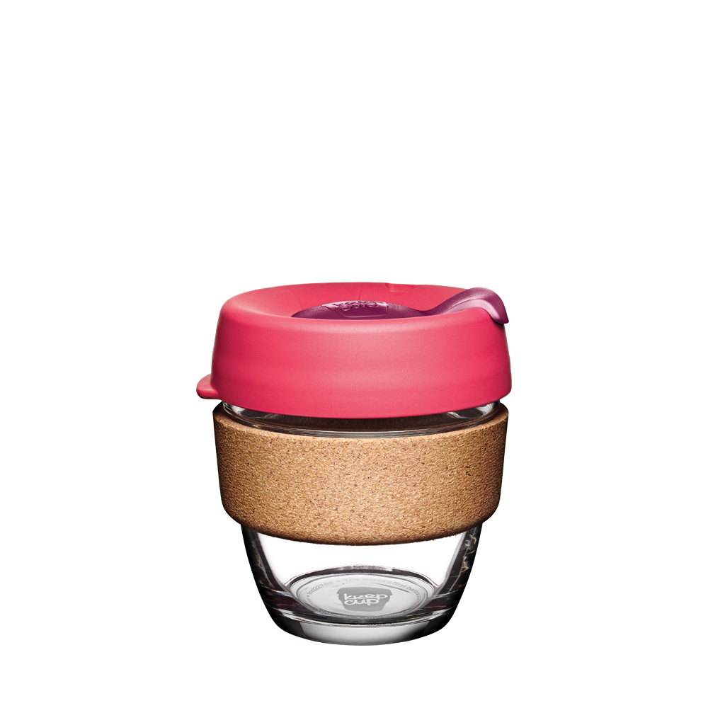 KeepCup Brew Cork Edition FLUTTER Koralle