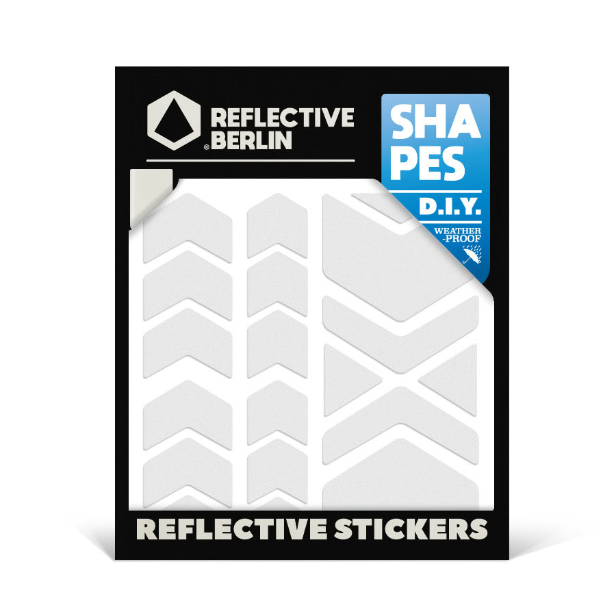 Reflektierende Sticker SHAPES Chevrons