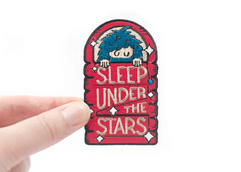 Ello There SLEEP UNDER THE STARS Aufnäher / WILDHOOD store