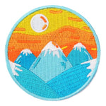 Mokuyobi SUNRISE MOUNTAINS Aufnäher / WILDHOOD store
