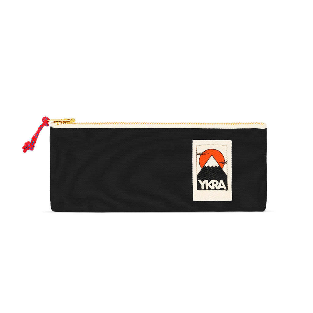 Ykra PENCIL CASE Stiftetasche SCHWARZ / WILDHOOD store