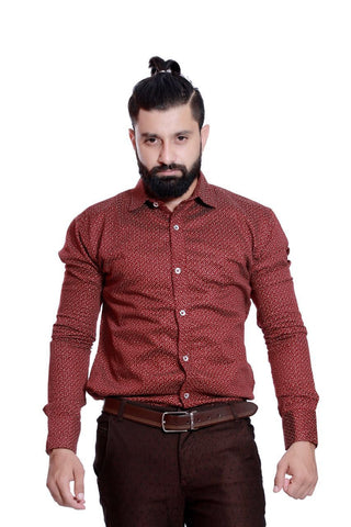 Polka dot shirts for mens