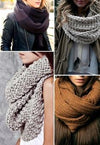 Fall Fashion Trend: Infinity Scarves