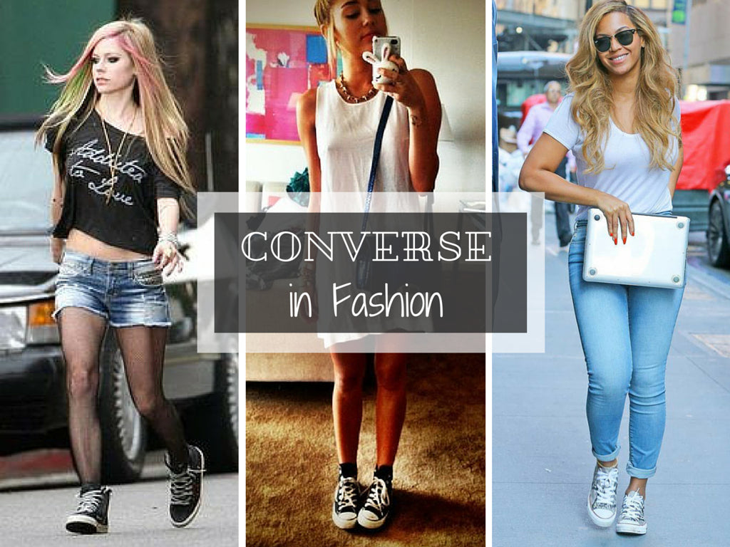 How to Wear   Style Converse Shoes to complete your Outfit 49ebdd684
