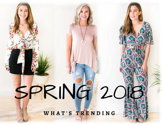 3ae40a886 Spring 2018 Top Trends You Will Find at Lotus Online Boutique
