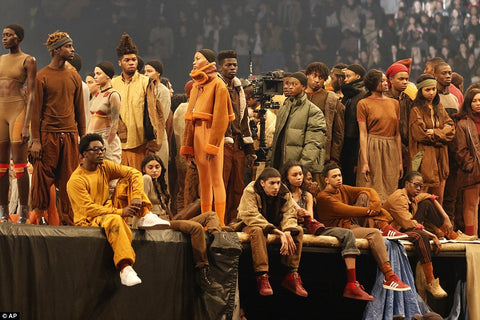 kanye west fashion show