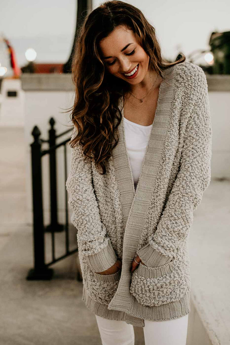 The cutest boutique cardigan
