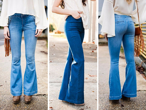 cute flare jeans