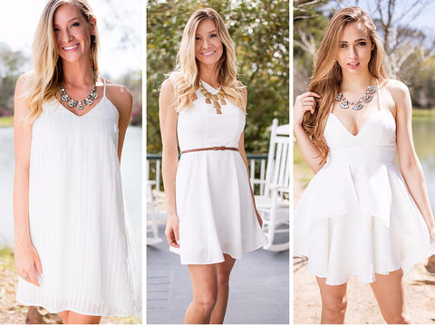 white dress boutique