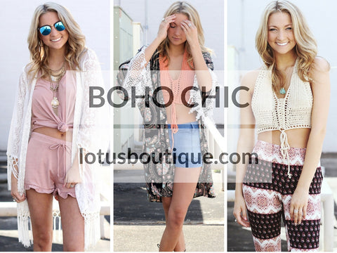 how to dress boho chic