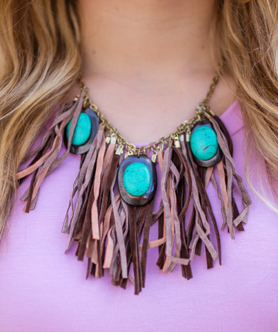 fringe festival necklace