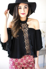 You're The One Off Shoulder Lace Top