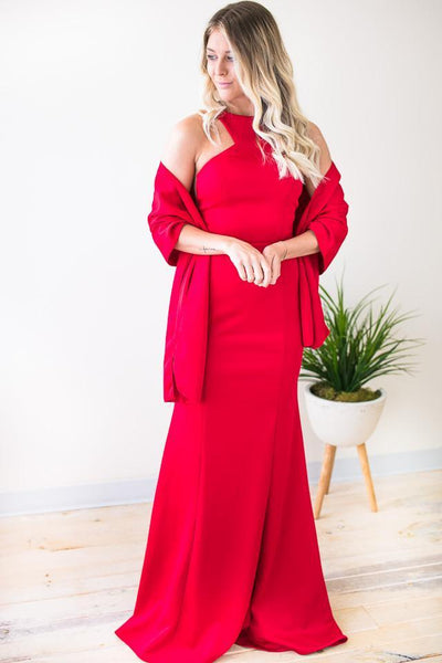 Dresses Walking Through The Fire Red Ball Gown - Lotus Boutique