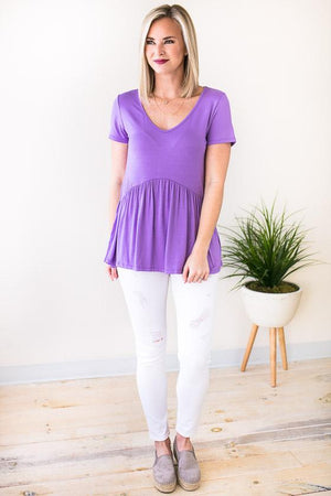 Color of the year purple top