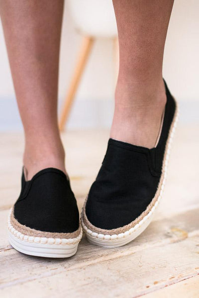 Shoes One Step Away Slip On Sneakers - Lotus Boutique