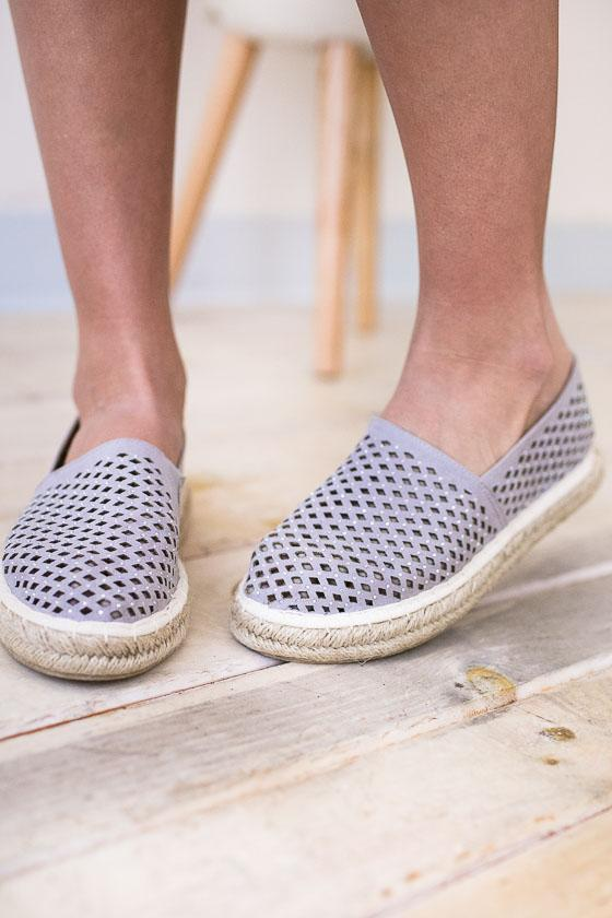 Shoes Look Close Espadrille Slip On Shoes - Lotus Boutique