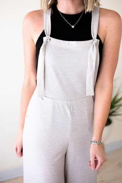 Playsuits Listen For It Overall Jumpsuit - Lotus Boutique