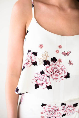 Style in Excess Floral Crop Top