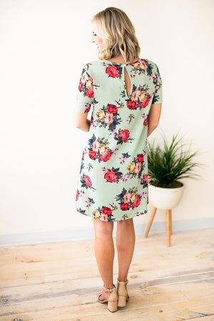 One Sweet Day Textured Floral Dress