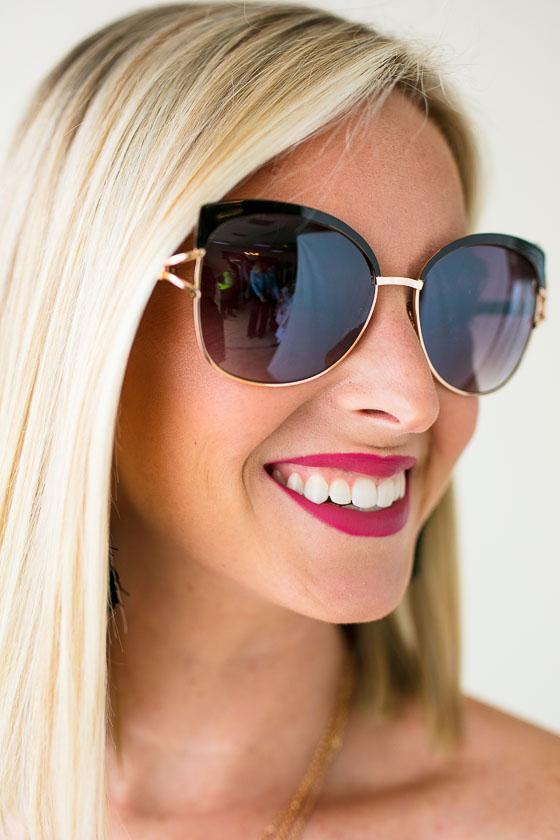 Accessories Stealing Glances Retro Sunnies - Lotus Boutique