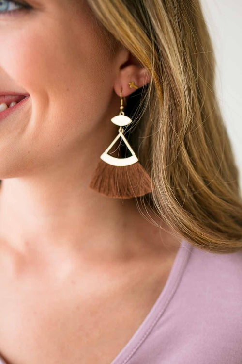 Tassel Detail Earrings