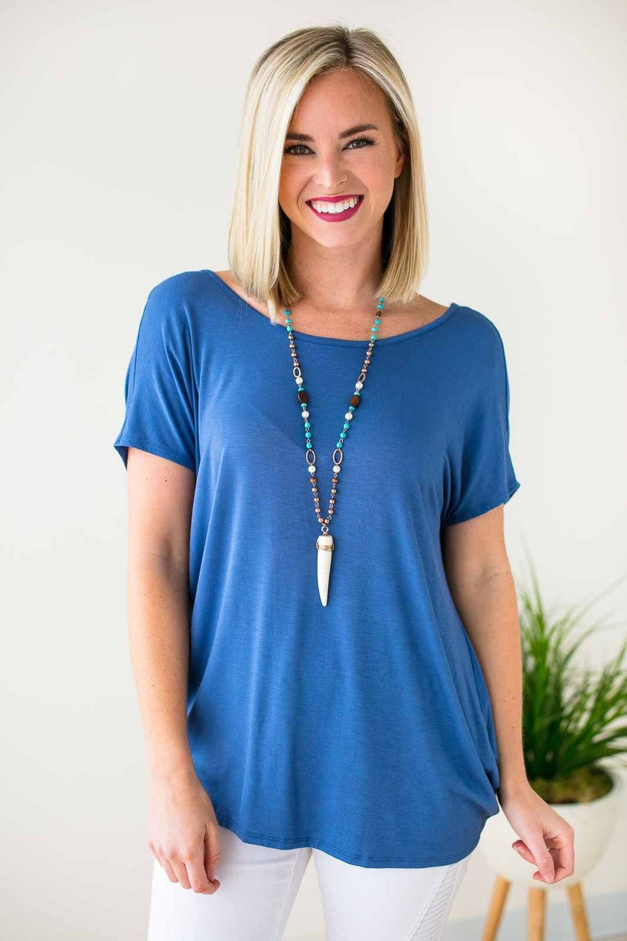 Tops Dancing in the Rain Open Back Top - Lotus Boutique