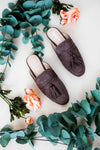 Shoes We Mean Business Flat Tassel Mule - Lotus Boutique