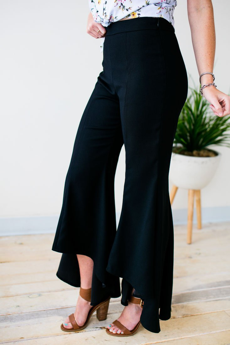 Tulip Ruffle Bottom Pants