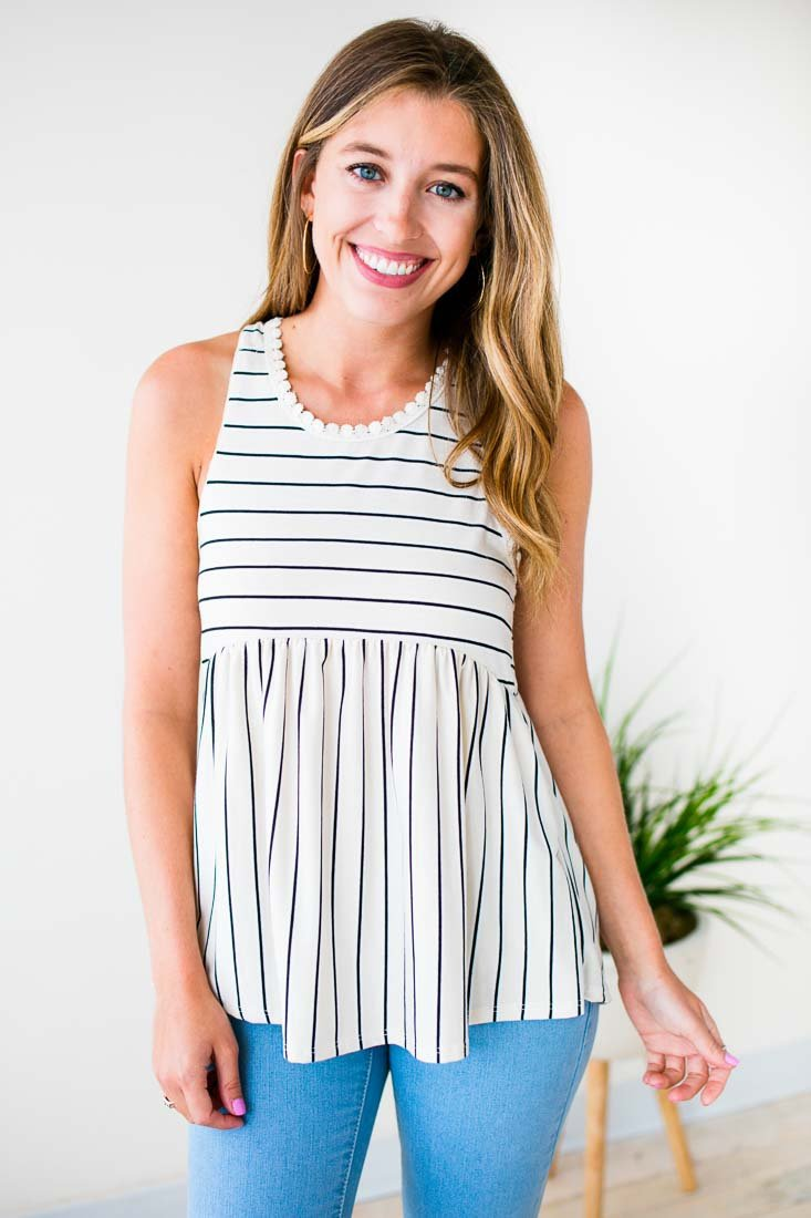 Striped Detailed Tank