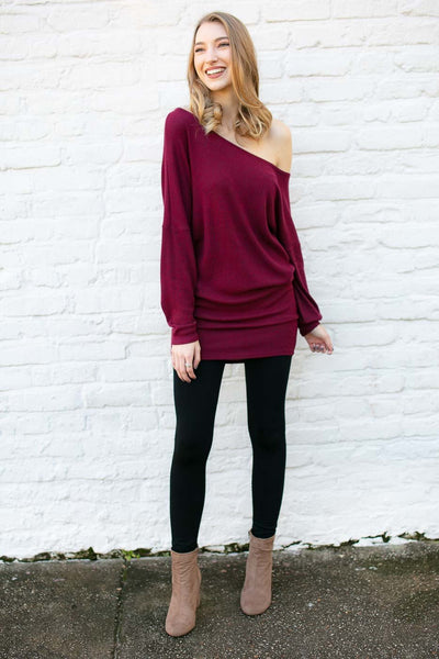 Ruby Off Shoulder Tunic